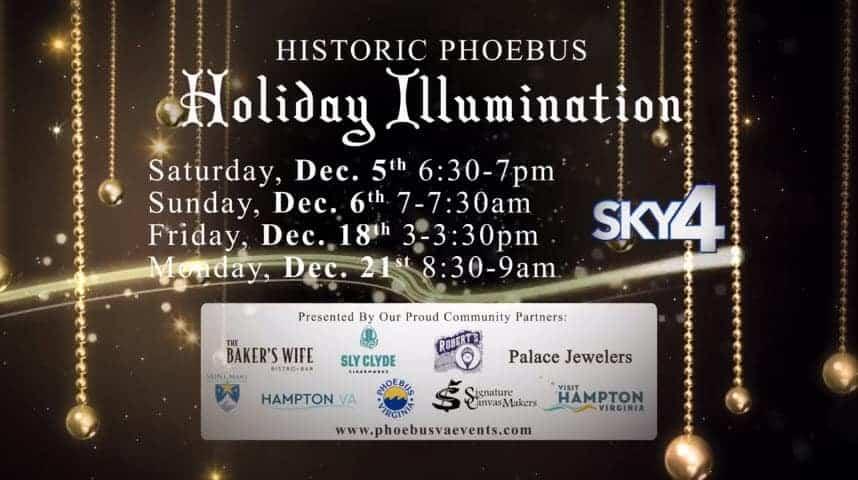 Virtual Phoebus Holiday Illumination