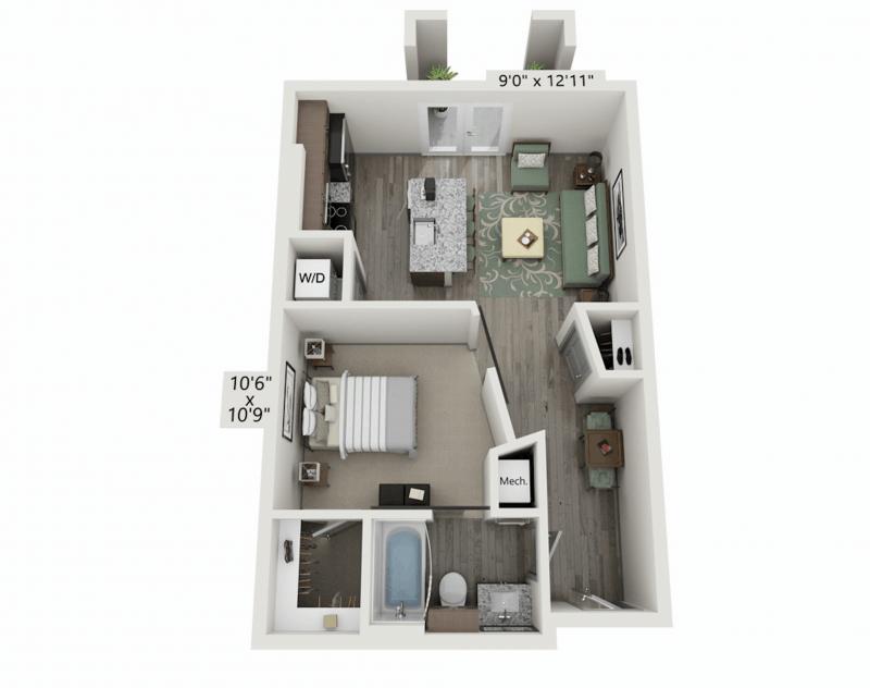 E1 - The Schooner Floor Plan
